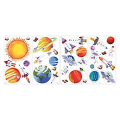 Sticker decorativo astronauta 35 unidades