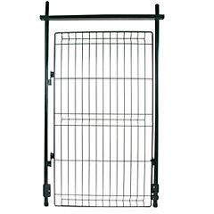 Kit de puerta metal 125x75 cm verde