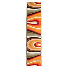 Alfombra Americana Ondas 50x212 cm