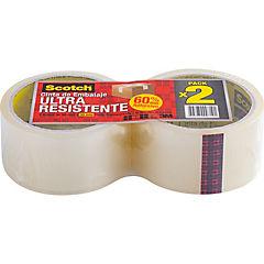 Pack 2 cintas embalaje ultraresistentes
