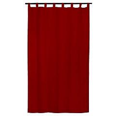 Cortina tela 140x230cm Look rojo