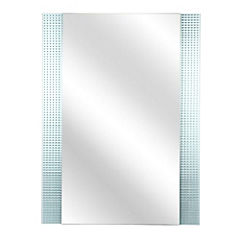 Espejo para baño 80x60x0,5 cm Incoloro