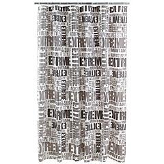 Cortina de baño Extreme PVC 180x180 cm