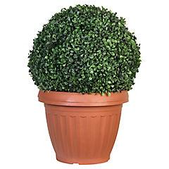 Topiary solar decorativa 35x50 cm Verde