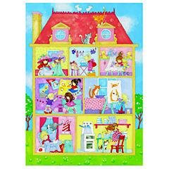 Papel fotomural Casa de muñecas 254x183 cm 4 paneles