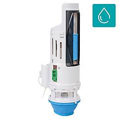 Válvula doble de descarga PVC