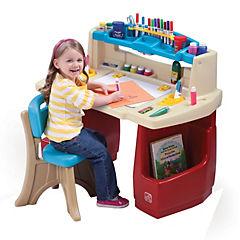 Mesa de trabajo para niños 80x90x51 cm