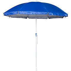 Quitasol con protección solar Twist-in azul