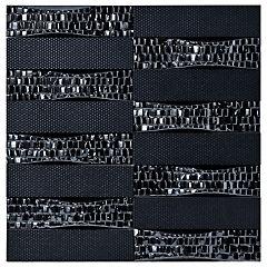Cerámica 25 x 25 cm Tesela Sorolla Negro 0.5 m2 **VARIEDAD DE SURTIDO**