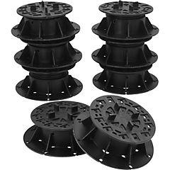 Soportes para pastelones 50-75 mm 8 unidades