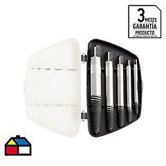 Extractor de pernos 3-20mm 5 piezas