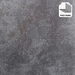 Cerámica 44x44 cm 1,54 m2 acero