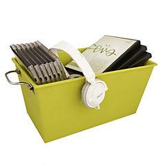 Caja con Asa Pequeña 34.6x19.7x17 cm Verde