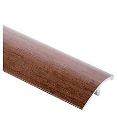 Guía de compensación pisos madera Aluminio Wenge 0.95 mt