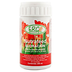 Fertilizante para flores concentrado 250 ml frasco