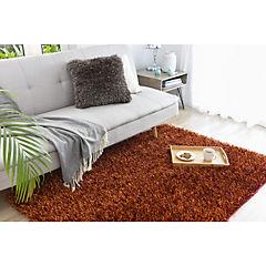 Alfombra Shaggy Mix 120x170 cm naranjo