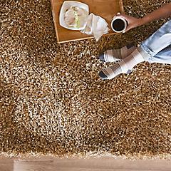 Alfombra Shaggy Mix 120x170 cm beige