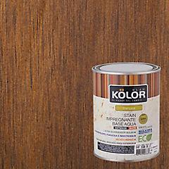 Protector de madera satinado 1/4 gl Castaño