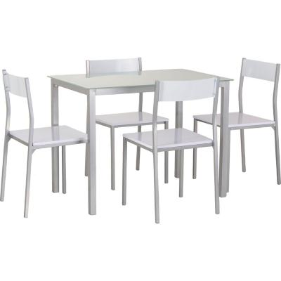 Comedor 4 sillas blanco - Just Home Collection - 2102900
