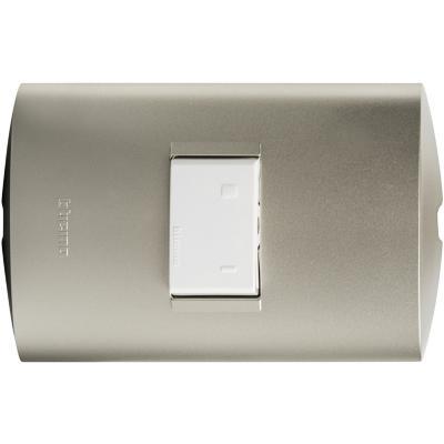 Circuito Electrico Simple Con Interruptor : Interruptor conmutador 9 24 10 a gris bticino 2111098