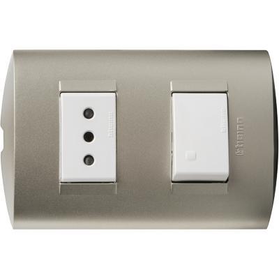 Interruptor 9 12 Y Tomacorriente 10a Perla Sodimac Cl