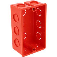Caja de derivación embutida plástico