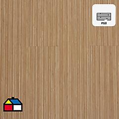 Piso vinílico 2,96 m2 Bambú