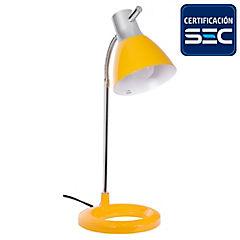 Lámpara de escritorio 1 luz Amarilla