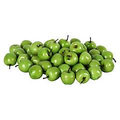 Mini manzanas verdes decorativas 50 unidades