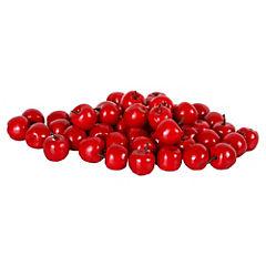 Mini cerezas decorativas 50 unidades