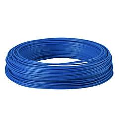 Alambre de cobre aislado (H07V-U) 1,5 mm2 100 m Azul