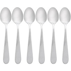 Set de cucharas para té acero inoxidable 6 unidades