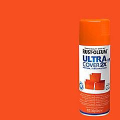 Pintura en spray brillante 340 gr Naranjo