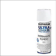 Pintura en spray mate 340 gr Imprimante blanco