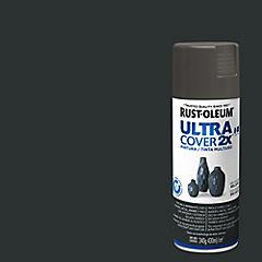Pintura en spray brillante 340 gr Gris oscuro