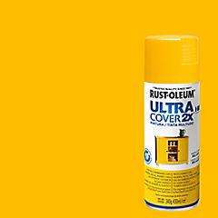 Pintura en spray semibrillo 340 gr Amarillo oro