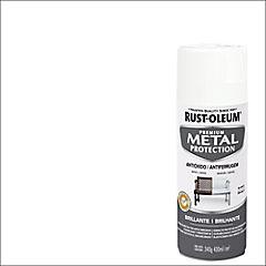 Pintura anticorrosiva en spray brillante 340 gr Blanco