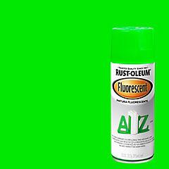 Pintura en spray fluorescente 312 gr Verde