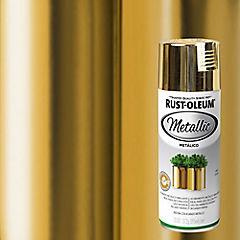 Pintura en spray metálico 312 gr Oro