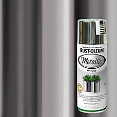 Pintura en spray metálico 312 gr Plata