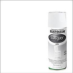 Laca en spray brillante 312 gr Blanco