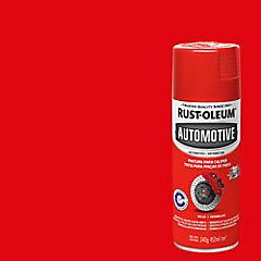 Pintura en spray para calibradores de frenos brillante 340 gr Rojo