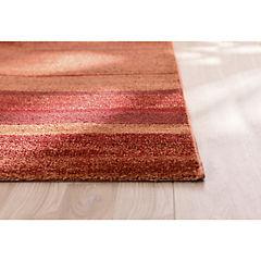 Alfombra Océano 160x230 cm rojo