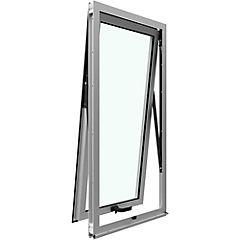 Ventana proyectante aluminio premiun 60x120 cm mate