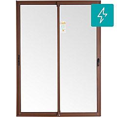 150x205cm Ventanal Aluminio madera