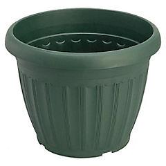 Macetero de plástico 32 cm Verde