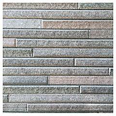 Revestimiento para muro piedra chocolate 45,5x303 cm 2,76 m2