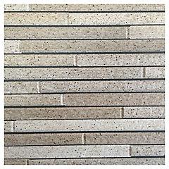 Revestimiento para muro piedra cafe 45,5x303 cm 2,76 m2