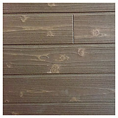 Revestimiento para muro madera chocolate 45,5x303 cm 2,76 m2