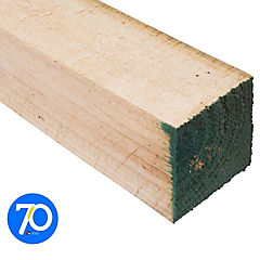 3x3''x3,2 m Pino dimensionado verde